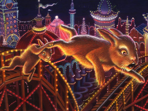 Rabbits in Flight